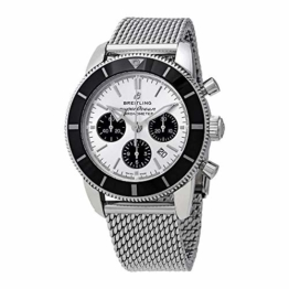 Breitling Mens Superocean HÉRITAGE II B01 Chronograph 44mm AB0162121G1A1 New 2018 Model - 1