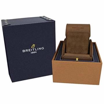 Breitling Navitimer 1 Chronograph 41 Stahl Herren-Armbanduhr auf schwarzem Lederband A13324121B1X1 - 2
