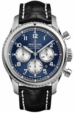 Breitling Navitimer 8 Chronograph B01 Chronometer 43 AB0117131C1P1 Blau - 1