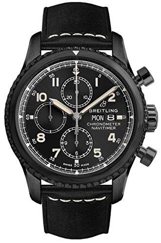 Breitling Navitimer 8 Chronograph Chronometer 43 Black Steel M13314101B1X1 - 1