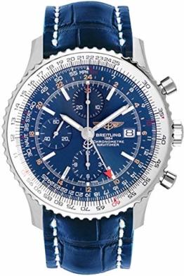 Breitling Navitimer Welt Blau Zifferblatt Herren-Armbanduhr A2432212/C651–746P - 1