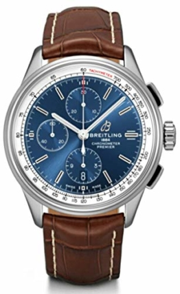 Breitling Premier A13315351C1P1 Chronograph, 42 mm, Blau - 1
