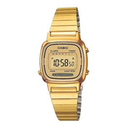 Casio Collection Damen Retro Armbanduhr LA670WEGA-9EF - 1