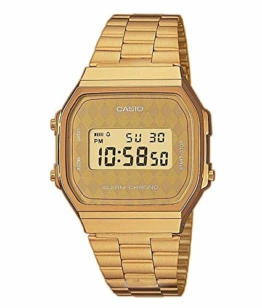 Casio Collection Unisex Retro Armbanduhr A168WG-9BWEF - 1
