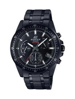 Casio Edifice Herren Massives Edelstahlgehäuse und Edelstahlarmband Uhrenarmband EFV-540DC-1AVUEF - 1