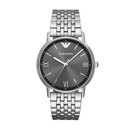 Emporio Armani Herren Analog Quarz Uhr mit Edelstahl Armband AR11068 - 1