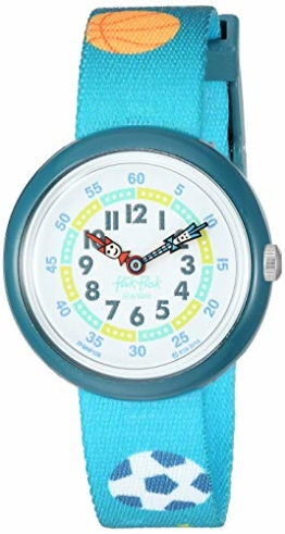 Flik Flak Kinder 1906 Going to School Quarz Polyester Band grün 14 Casual Watch (Modell: ZFBNP138) - 1