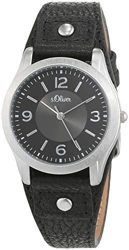 S.Oliver Damen Analog Quarz Armbanduhr SO-2945-LQ - 1