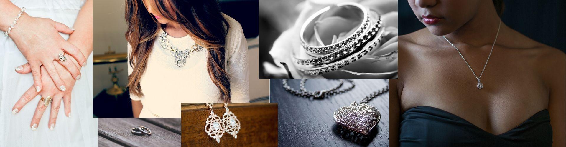 Schmuck - Halsketten - Armreifen - Ringe