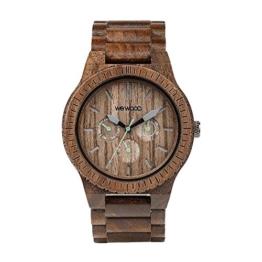 WEWOOD Herren Analog Quarz Smart Watch Armbanduhr mit Holz Armband WW15005 - 1