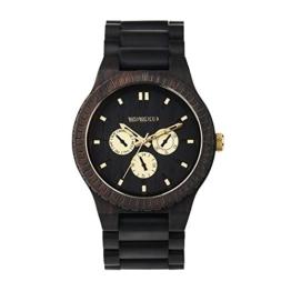 WEWOOD Herren Analog Quarz Smart Watch Armbanduhr mit Holz Armband WW15008 - 1
