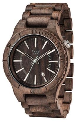 WEWOOD Herren Analog Quarz Smart Watch Armbanduhr mit Holz Armband WW29004 - 1