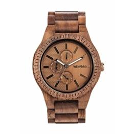 WEWOOD Herren Analog Quarz Smart Watch Armbanduhr mit Holz Armband WW30004 - 1