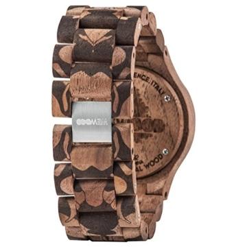 WEWOOD Herren Analog Quarz Smart Watch Armbanduhr mit Holz Armband WW40001 - 3