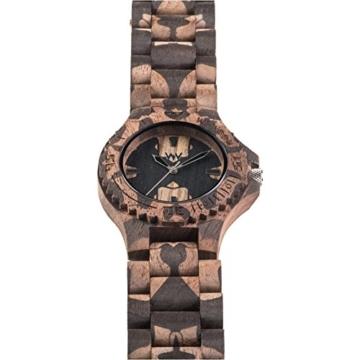 WEWOOD Herren Analog Quarz Smart Watch Armbanduhr mit Holz Armband WW40001 - 4