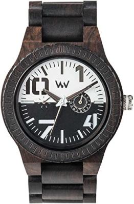 Wewood Herren Analog Quarz Smart Watch Armbanduhr mit Holz Armband WW51002 - 1