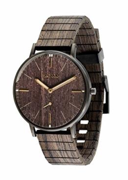 WEWOOD Herren Analog Quarz Smart Watch Armbanduhr mit Holz Armband WW63002 - 1