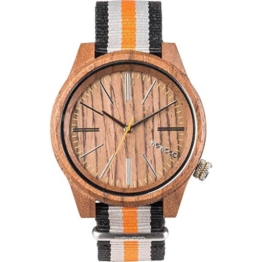 Wewood Herren Analog Quarz Smart Watch Armbanduhr mit Nylon Armband WW50002 - 1