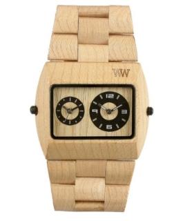 Wewood Herren-Armbanduhr Jupiter Analog Quarz One Size, beige, beige - 1
