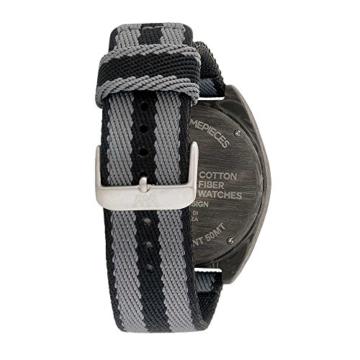 WEWOOD Herren Chronograph Quarz Smart Watch Armbanduhr mit Stoff Armband WW56001 - 3