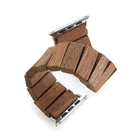 WEWOOD Unisex Erwachsene Holz Uhrenarmband WW-Trift - 1