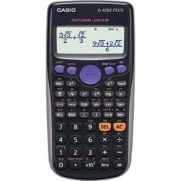 Casio FX-82DE Plus Wissenschaftlicher Taschenrechner, Batteriebetrieb - 1