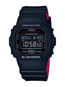 Casio G-Shock Herren Harz Uhrenarmband DW-5600HR-1ER - 1