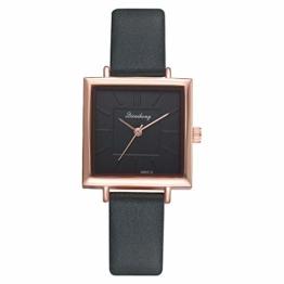 Notdark Damen Uhren Armbanduhr Edelstahl Stylish Einzigartige Digital Literal Multi Layer Dial Männer Quarz Mesh GüRtel Uhr (Grün) - 1