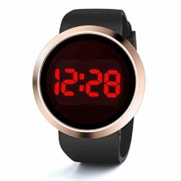 OLUYNG Armbanduhr Womens Sport Casual LED Uhren Herren Digitaluhr Mann Armee Militär Silikon Armbanduhr Uhr Hodinky - 1