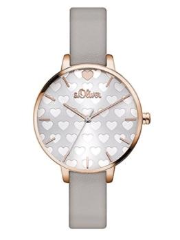 S.Oliver Damen Analog Quarz Armbanduhr SO-3475-LQ - 1