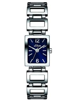 s.Oliver Damen-Armbanduhr Analog Quarz Alloy SO-3028-MQ - 1