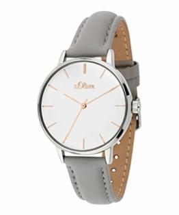 s.Oliver Damen-Armbanduhr Analog Quarz SO-3645-LQ - 1