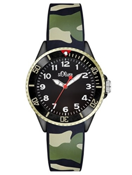 S.Oliver Unisex Analog Quarz Armbanduhr SO-2998-PQ - 1