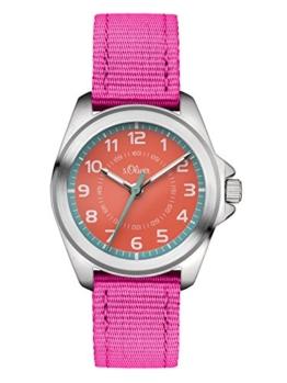 s.Oliver Unisex-Armbanduhr Analog Quarz Textil SO-3400-LQ - 1