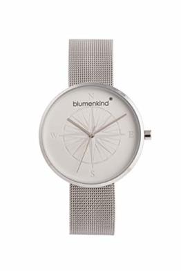 Blumenkind Damen Uhr Kompass - die Maritime Uhr zum (Dur) Schmuck BKU2SS - 1
