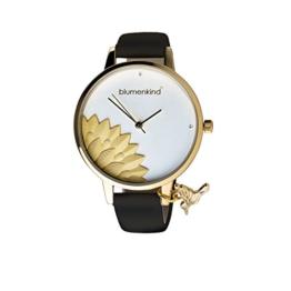 Blumenkind Damenarmbanduhr Pennsylvania Gold/Schwarz 13121989GWHPBK - 1
