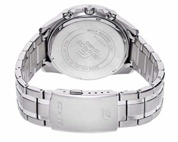 Casio Edifice Herren Massives Edelstahlgehäuse und Edelstahlarmband Uhrenarmband EFR-552D-1AVUEF - 2