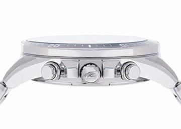 Casio Edifice Herren Massives Edelstahlgehäuse und Edelstahlarmband Uhrenarmband EFR-552D-1AVUEF - 3