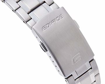 Casio Edifice Herren Massives Edelstahlgehäuse und Edelstahlarmband Uhrenarmband EFR-552D-1AVUEF - 4