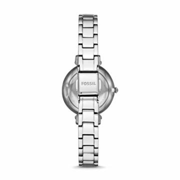 Fossil Damen Analog Quarz Uhr mit Edelstahl Armband ES4448 - 2