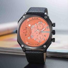 OLUYNG Armbanduhr beiläufige Gurt Sport Quarzuhr 2 - 1