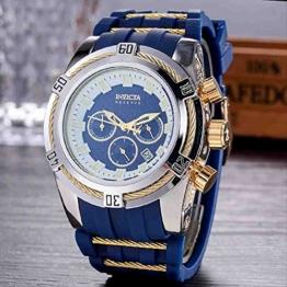 OLUYNG Armbanduhr Voll funktionsfähige Kautschukband Herren Business Watch 8Th - 1