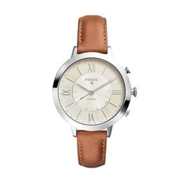 Fossil Damen Analog Quarz Uhr mit Leder Armband FTW5012 - 1