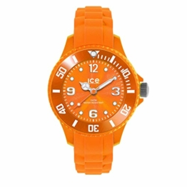Ice-Watch - ICE forever Orange - Men's wristwatch with silicon strap - 000138 (Medium) - 1
