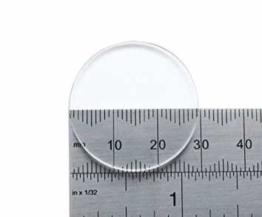 Watch Glass Made by W&CP to fit Casio Generic Glass MSY 502 Glass Ø29.5mm - 1