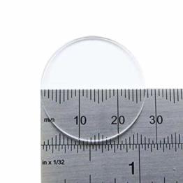 Watch Glass Made by W&CP to fit Casio Generic Glass SHN 5006 Glass Ø27.5mm - 1