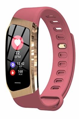 Yihou - Unisex -Armbanduhr- YihouE18 pink Gold - 1