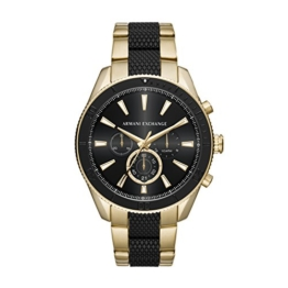 Armani Exchange Herren Analog Quarz Uhr mit Edelstahl Armband AX1814 - 1