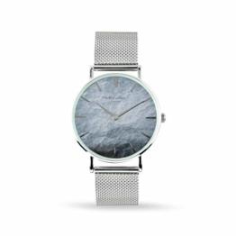 Elie Beaumont Herren Analog Japanisch Quarz Uhr mit Edelstahl Armband MB1805.3 - 1