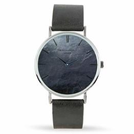 Elie Beaumont Herren Analog Japanisch Quarz Uhr mit Kunstleder Armband MB1805.2 - 1